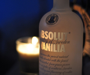 vodka, absolut, and vanilla image
