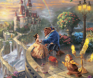 art, belle, and beast image