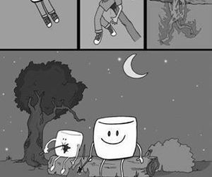 marshmallow, funny, and humans image