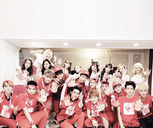 girls generation, exo, and Chen image