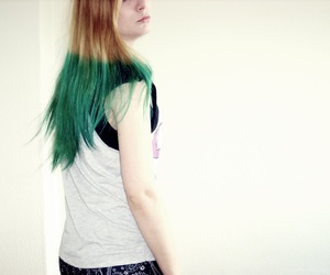 blond, blue, and girl image