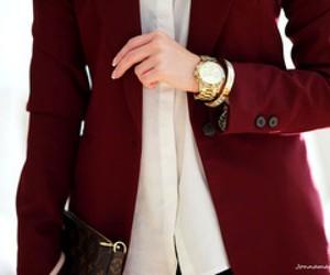 blazer, white, and fashion image