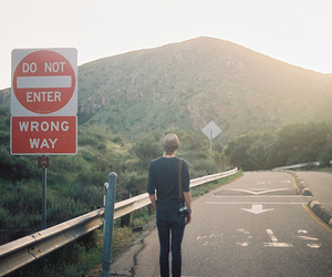boy, photography, and road image