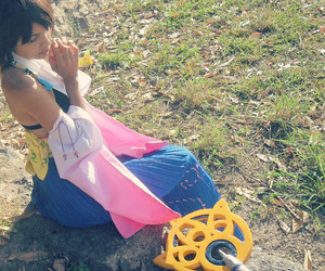 cosplay, FFX, and yuna image