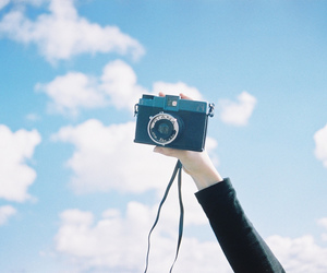 camera, photography, and sky image