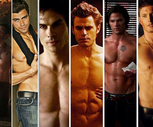 abs, damon, and dean winchester image