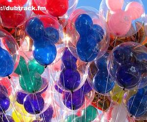 dubtrackfm, disney, and balloons image