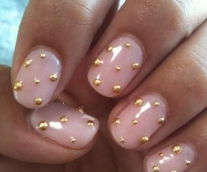 gold, pink, and Nude image