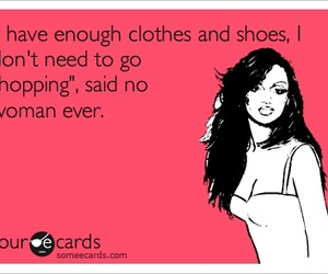 shopping, funny, and shoes image