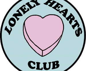 lonely, club, and lonely hearts club image