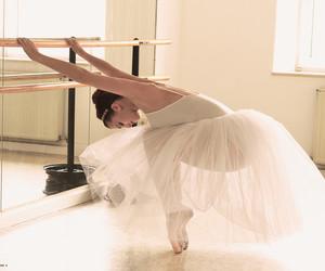 dance ballet pretty white image