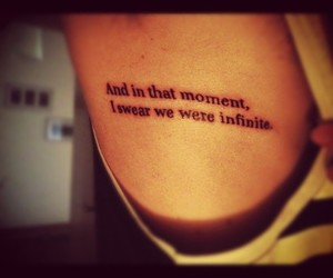 infinite, moment, and quote image
