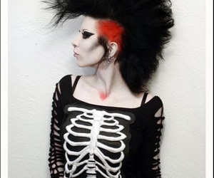 alternative, clothes, and makeup image