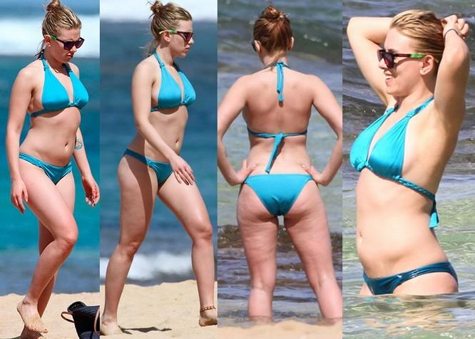 Scarlett Johansson Fat