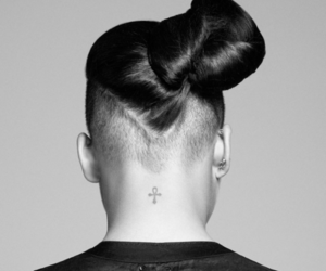 tattoo, hair, and cassie image
