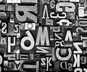 photography, typography, and metal image