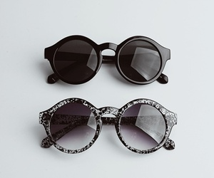 fashion, sunglasses, and black image