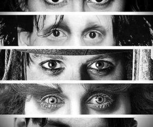 johnny depp, eyes, and jack sparrow image