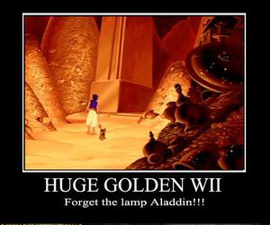 alladin, funny, and wii image