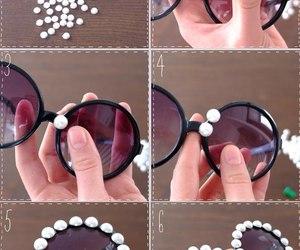 diy, sunglasses, and ideas image