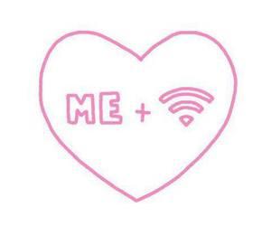 love, wifi, and me image