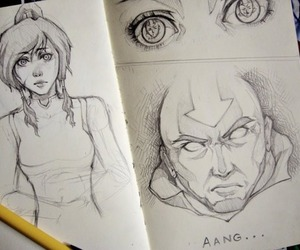 avatar, aang, and legend of kora image