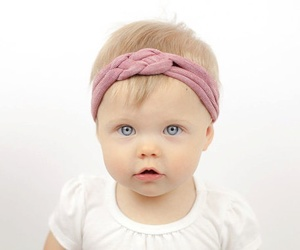 baby, cool, and eyes image