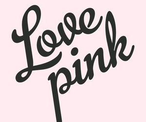 pink and love image