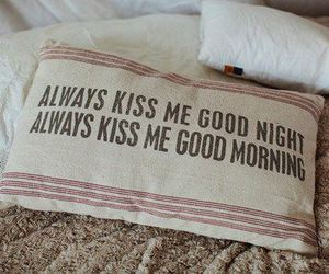 kiss, pillow, and always image
