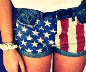 shorts, america, and usa image