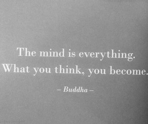 quotes, mind, and Buddha image