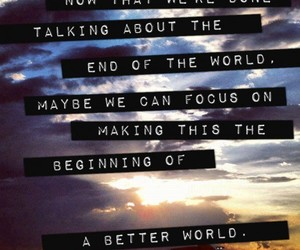 quote, world, and better image
