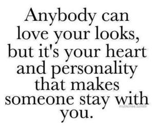 love, quotes, and personality image