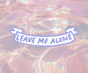 heart, water, and leave me alone image