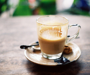 coffee, food, and cafe latte image