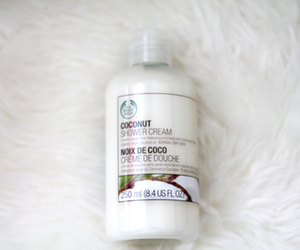 the body shop, body, and coconut image