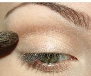 eyes, makeup, and glam image