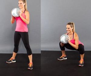 butt, fitness, and exercise image