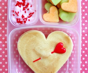 heart, food, and lunch image