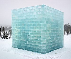 ice, blue, and snow image
