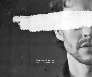 black and white, hannibal, and hugh dancy image