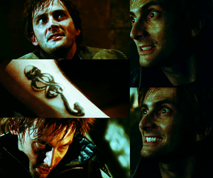 harry potter, david tennant, and barty crouch jr image