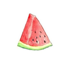 transparent, watermelon, and overlay image