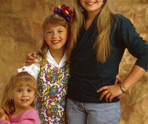 full house, michelle tanner, and stephanie tanner image