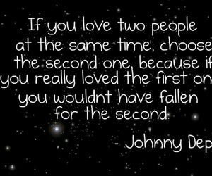 choose, johnny depp, and one image