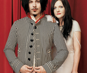 jack white, music, and meg white image