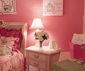 flowers, room, and girly image