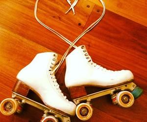 beautiful, rollerskating, and love image