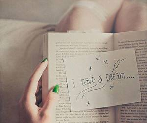 Dream, book, and quotes image