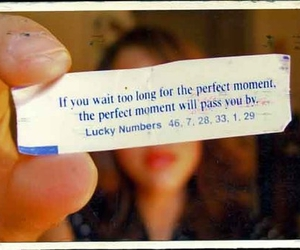 fortune, fortune cookie, and life image